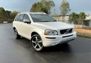 2014 Volvo XC90 P28 MY14 D5 Geartronic R-Design White 6 Speed Sports Automatic Wagon