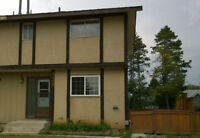 Pet Friendly Sparwood Half Duplex near Recreational Centre
