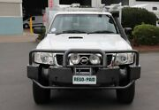 2009 Nissan Patrol GU 6 MY08 DX White 5 Speed Manual Cab Chassis Acacia Ridge Brisbane South West Preview