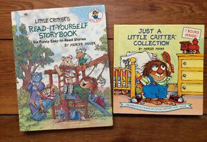 LITTLE CRITTER books by Mercer Mayer 13 stories for $10