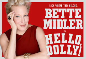 """*2* BROADWAY Tix """"HELLO DOLLY"""" Orchestra JULY 8th @2pm"""