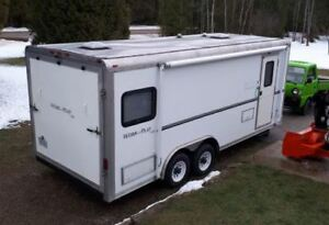 21ft Forest River Work n Play Toy Hauler