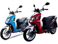 See our massive range of 50cc and 125cc Scooters & Bikes **FINANCE & CBT ARRANGED**