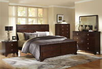 8PCS QUEEN SIZE BEDROOM SET ONLY $1299 NO TAX