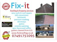 Fix it roofing & property services