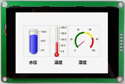 New 3.5 Inch Hmi Uart Tft Lcd Display Module 480x320 Capacitive Touch Screen