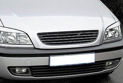 Vauxhall Opel Zafira A MK1 1 Debadged Badgeless Front Sport Grill w/o Emblem 99-