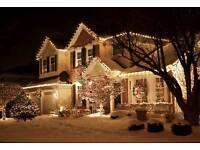 Outdoor christmas lights. Have your house stand out this christmas!