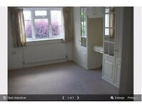 Double bedroom with en-suit in 2 bedroom share flat