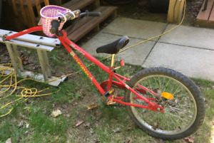 Bicycle addition to adult bike for child rider!
