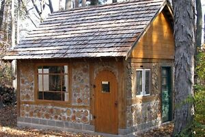 off-grid small homes community