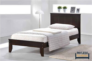 NEW ★ Solid Wood ★ Twin / Full Beds ★ Can Deliver Cambridge Kitchener Area image 3