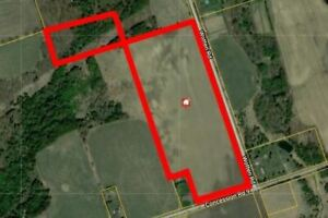 Beautiful 27.8 acres of vacant land in Clarington