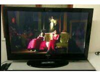 "50"" samsung plasma tv full hd built in freeview"
