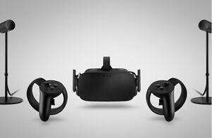 Oculus Rift with Touch and 3 sensors - room scale htc vive exp
