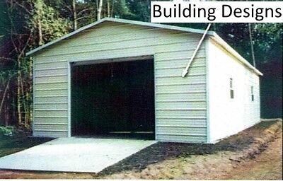 Garage 22 X 31 X 11 W 10x10 Door All Steel -- Free Install Pick-up Avail.