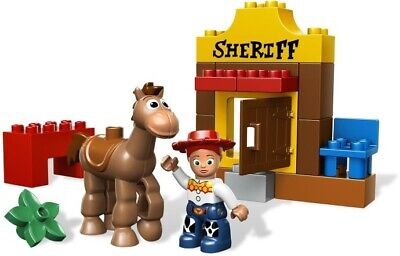 Lego Duplo 5657 Toy Story 3 Jessie's Round Up 100% Complete