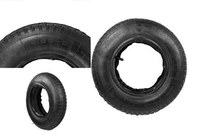 0 NEU Reifen mit Schlauch für Schubkarre 3.50-8