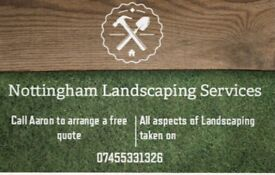 Nottingham Landscaping Services / artificial grass / patios / driveways / fencing