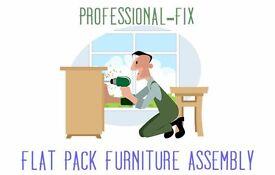 FLAT PACK QUALITY ASSEMBLING & DIY