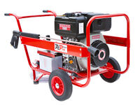 New 10HP Yanmar Diesel Engine Driven Industrial High Pressure/Power Washer With Belt Drive 200 Bar