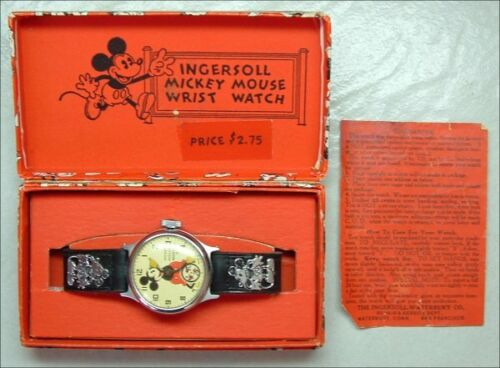 Restoration Service For Ingersoll Mickey Mouse Watches, Repair, Refurbish, Fix