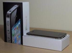 Black iPhone 4 Brand New 16 Gb, Rogers Chatr