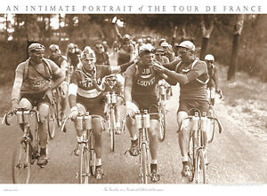 BICYCLE-ART-PRINT-TOUR-DE-FRANCE-SMOKERS-30x22-Bike-Smoking-Smoke-Poster