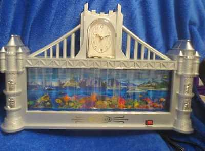 Charming of Choice Fish Tank and Clock - Castle Shaped