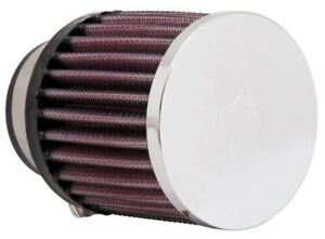 K&N RC-0890 Universal Round Clamp-on Air Filter