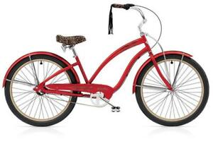Electra Red Betty Beach cruiser bicycle