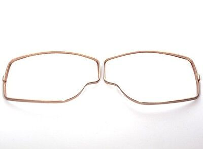 AVIATOR Brillenrahmen Farbe Gold  Leon Jeantet  für Aviator Brille T1 , T2 , T3
