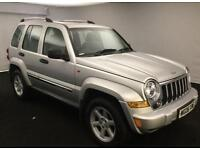 2006 Jeep Cherokee 3.7 ( 201bhp ) 4X4 Auto Limited ONLY 65000 MILES
