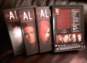 ALIAS DVD SEASON 1, 3 & 4 TV television series  3 x 6 = 18 DVD's