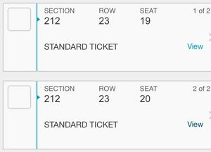 Eric Church Tickets Sat March 11
