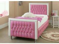 Princess Bed Faux Leather Very Good Condition