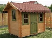 Childrens Wooden Outdoor Playhouse