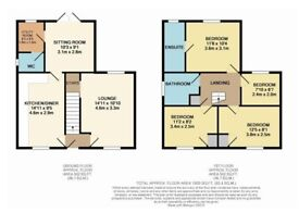Two double bedrooms, in quiet area, cheap rent