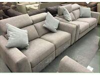 Brand new genuine Grey Elan DFS sofas