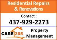 Repairs and Renovation by Semi-Retired Experience Handyman