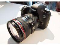 Canon EOS 6D Digital SLR + 24-105mm f/3.5-5.6 STM IS Lens + BAG + 3GB MEMORY CARD