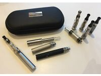 Vape Starter Kit Ego-t + Tanks + Batteries + Case