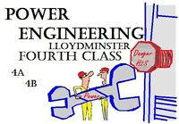POWER ENGINEERING - Fourth Class 4A 4B tutor