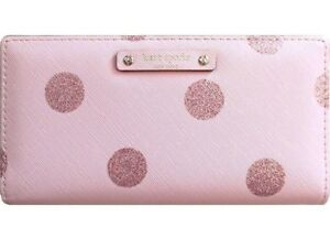 BNWT Authentic Kate Spade Pink Leather Wallet