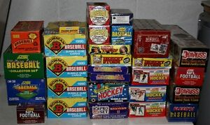25 boxes and factory sets of sports and non-sports cards