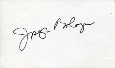 Joseph Bologna Lovers and Other Strangers Oscar Nom Superman Signed Autograph