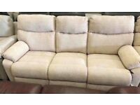 La-Z-Boy 3 And 2 seater sofa electric recliner