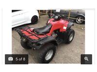 Wanted, 4x4 farm quad, Honda, Kawasaki, yamaha
