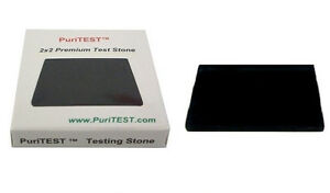 Scratch Stone gold silver testing tester kit detect fake metals 10k 14k 18k 24k