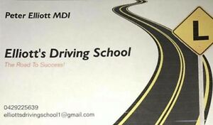 Elliott's Driving School Pooraka Salisbury Area Preview